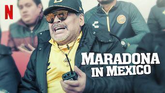 Maradona in Mexico (2020)
